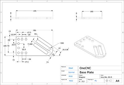 CAD / CAM Profiler軟件OneCNC